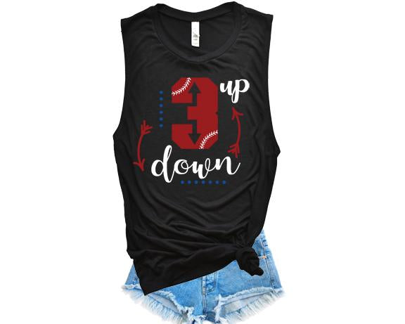 3 up, 3 down tank