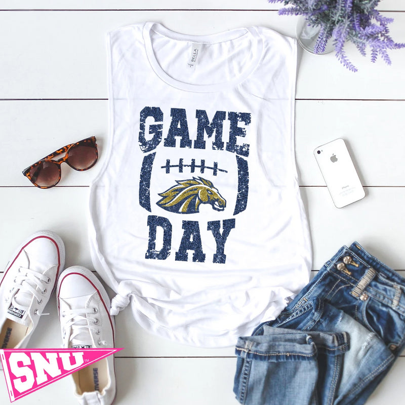 casteel colts gameday muscle tank