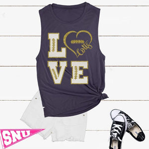 casteel colts love muscle tank