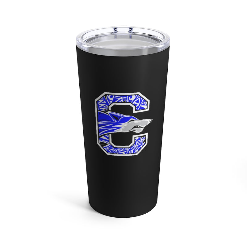 chandler wolves tumbler 20oz