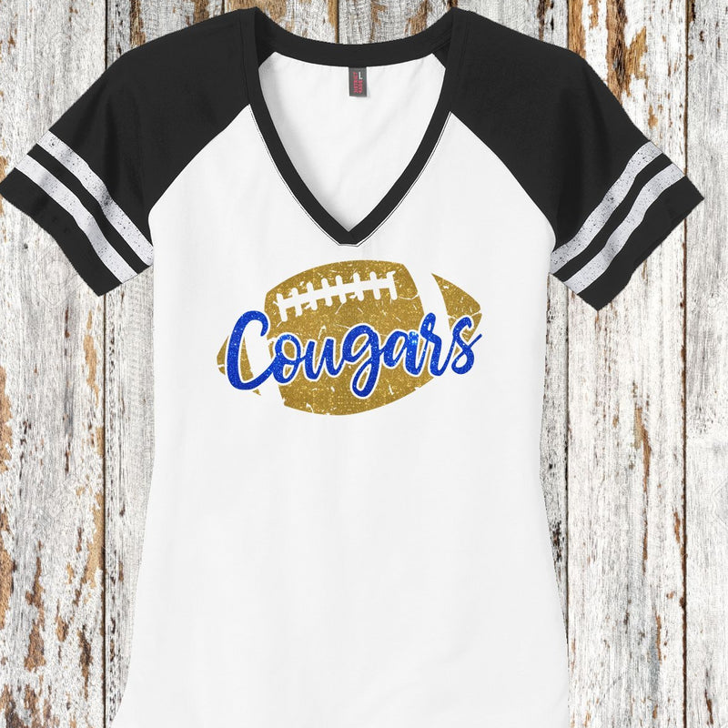 cougars football jersey tee