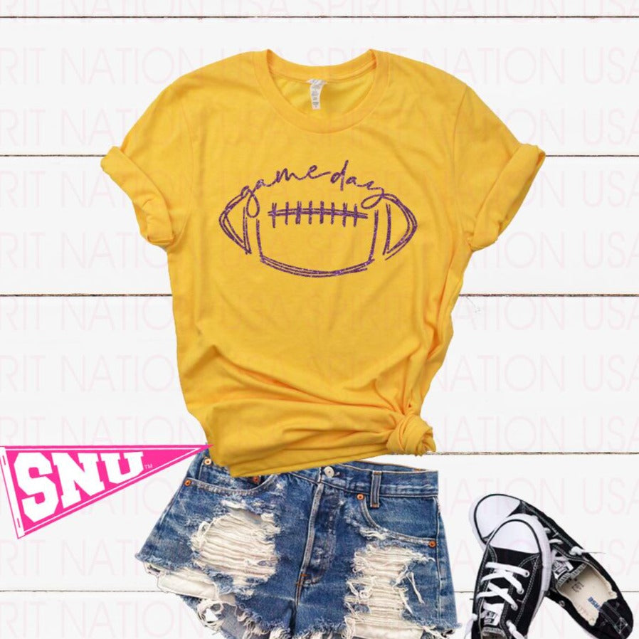 gameday football (pick design color)