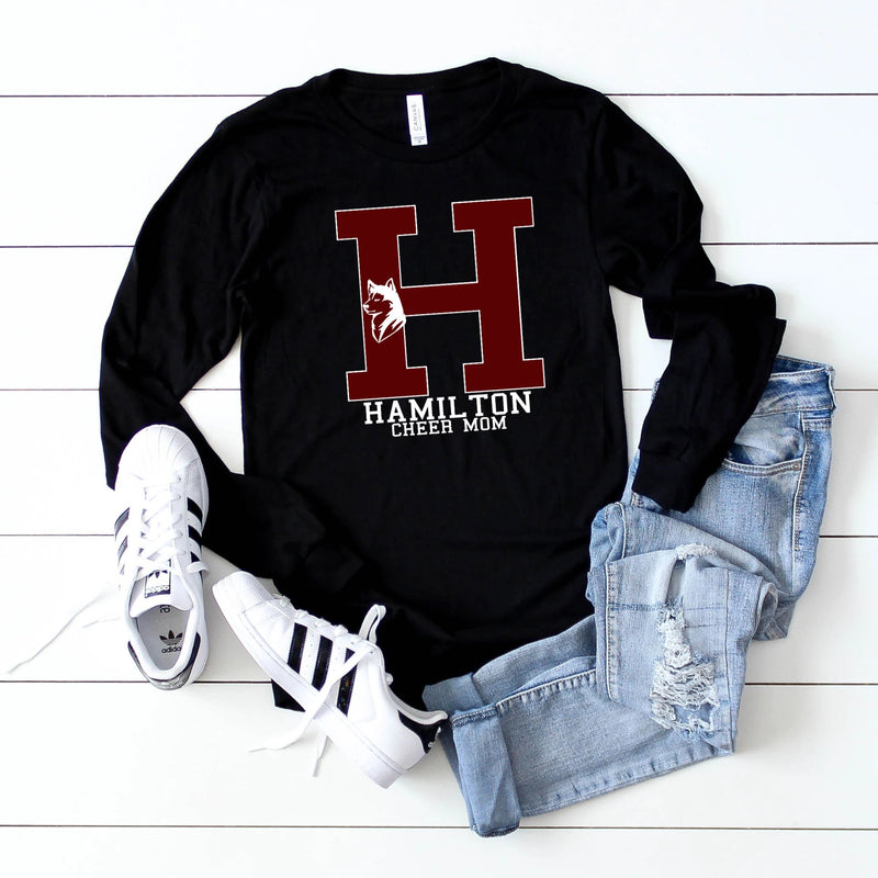 hamilton huskies long sleeve