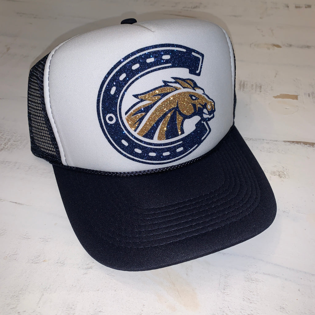 casteel colts trucker hat