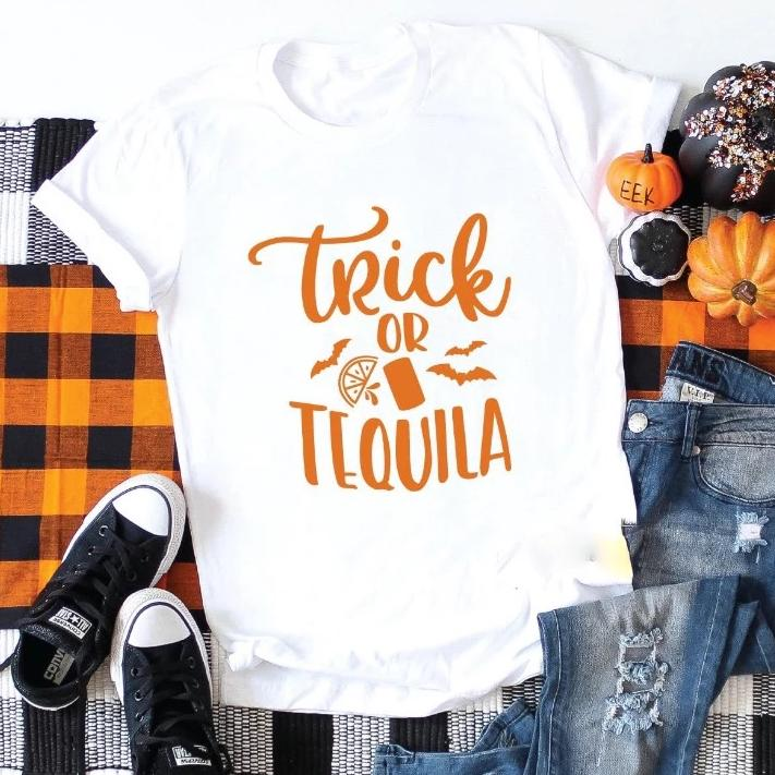 trick or tequila tee