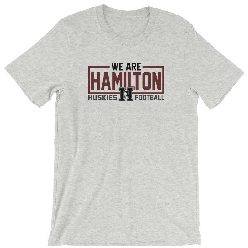we are hamilton men's unisex shirt