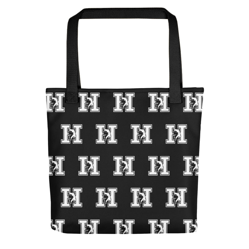 hamilton huskies tote bag