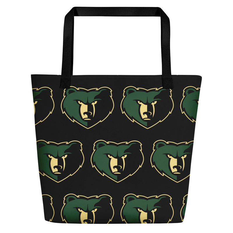 basha bears beach bag