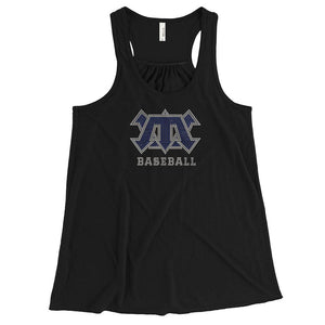 cats baseball flowy tank