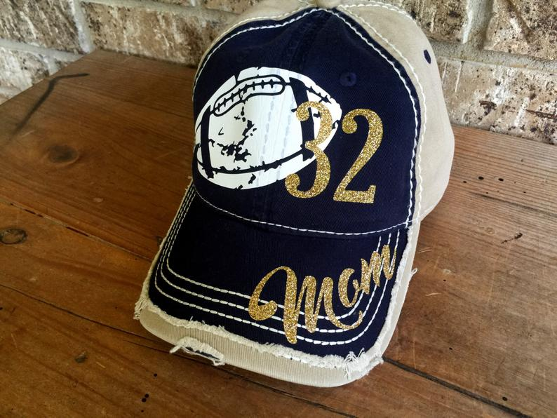 custom football hat