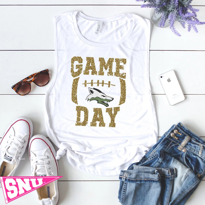 skyline coyote game day tank