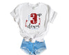 3 up, 3 down boyfriend tee