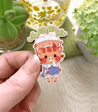 Animal Crossing Daisy Mae Wood Pin