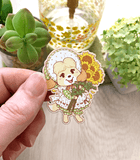 Animal Crossing Isabelle Wood Pin