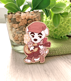 Animal Crossing K.K. Slider Wood Pin