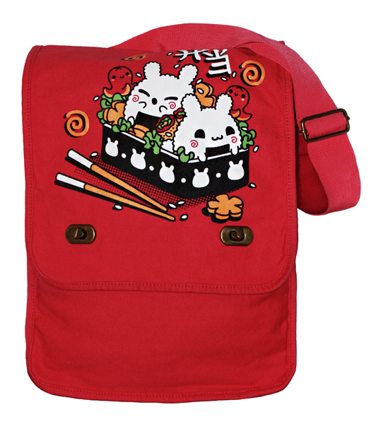 Bento Bunnies Messenger Bag