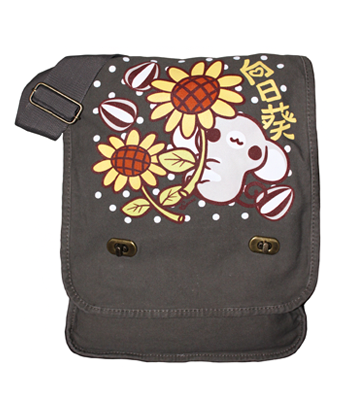 Seedy Sunflower Messenger Bag