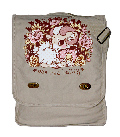Baa Baa Bailey Messenger Bag