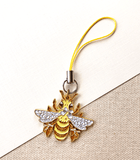 Bee-utiful Honey Bee Enamel Charm