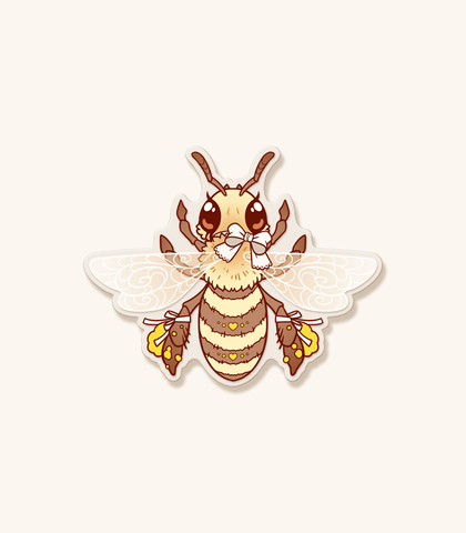 Bee-utiful Honey Bee Vinyl Sticker