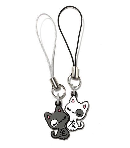 """Best Friends"" Cats Charms"