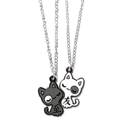 """Best Friends"" Cats Necklaces"
