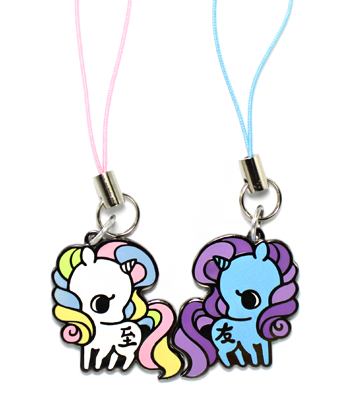 """Best Friends"" Unicorn Charms"