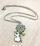 Puddle bunnies necklace