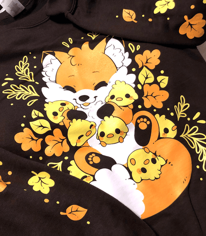 Doki Fox Chick Pile Sweatshirt