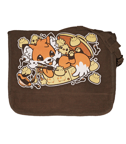 Doki Fox Dim Sum Deluxe Messenger Bag