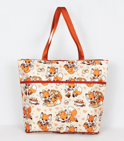 Doki Fox Folding Tote Bag