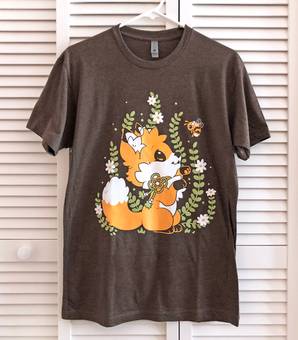 Doki Fox Playful Bee Unisex Shirt