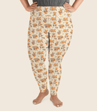 Doki Fox Playful Leggings Plus Size