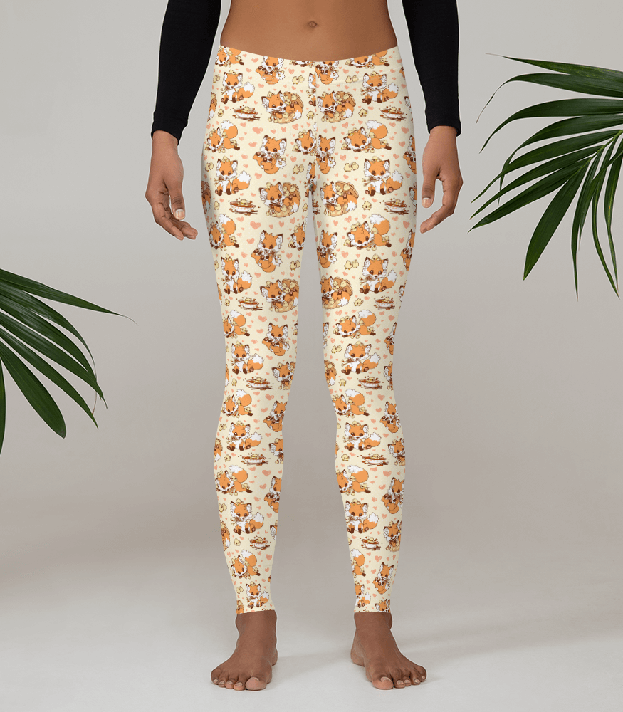 Doki Fox Playful Leggings
