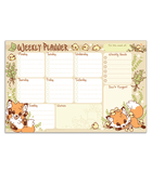 Doki Fox weekly planner notepad