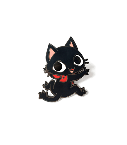 Gamercat Clinging Enamel Pin