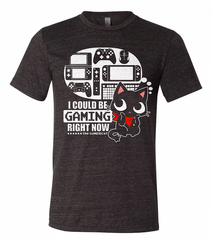 Gamercat Could be Gaming Unisex Shirt