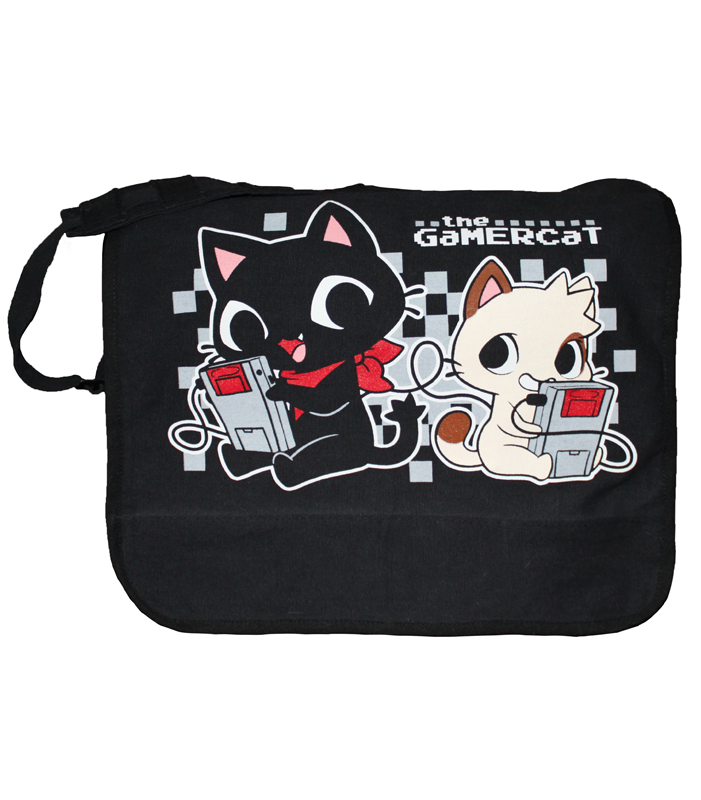 Gamercat deluxe messenger bag
