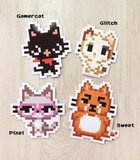Gamercat stickers