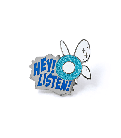 Hey! Listen! Fairy Enamel Pin