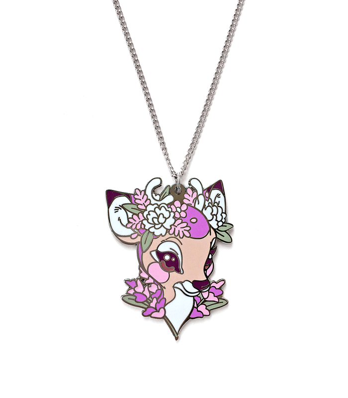 Lavendeer necklace