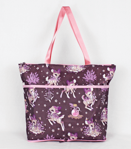Lavendeer Folding Tote Bag