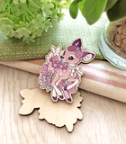 Lavendeer Prance Wood Pin