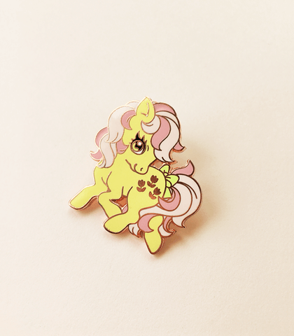 Little Pony Pose Enamel Pin