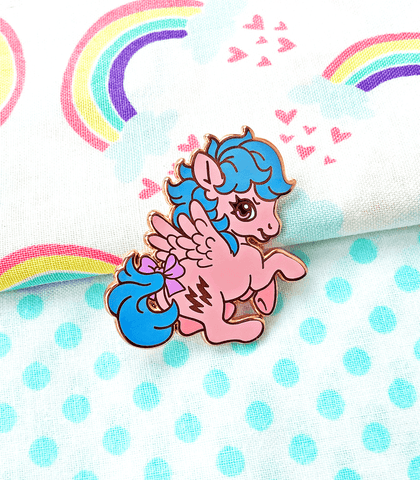 Little Pony Firefly Pegasus Enamel Pin