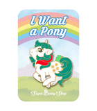 Little Pony Gusty Unicorn Enamel Pin