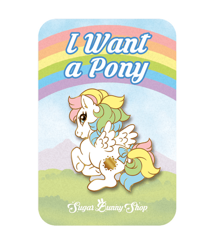 Little Pony Pegasus Enamel Pin