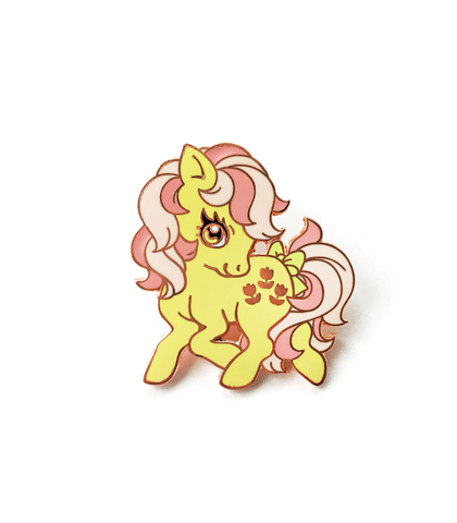 Little Pony Posey enamel pin