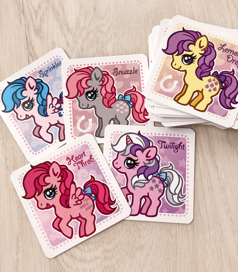 My Little Pony trading cards
