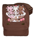 Neapolitan Bunnies messenger bag